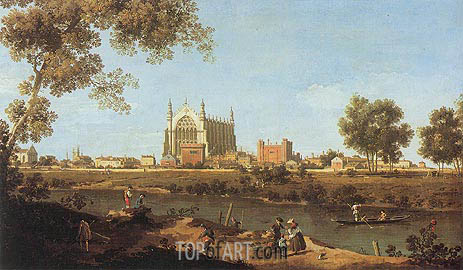 Canaletto | The Chapel of Eton College, 1747