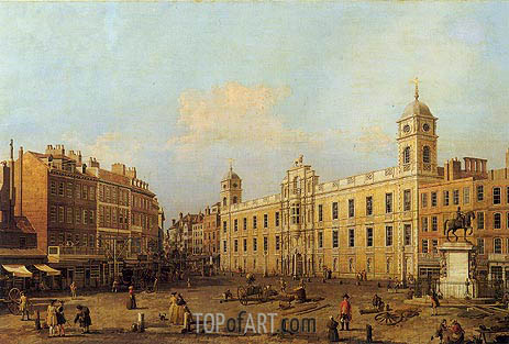 Canaletto | Northumberland House, 1752