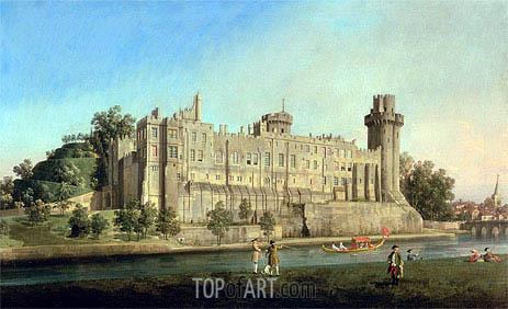 Warwick Castle, c.1749 | Canaletto | Gemälde Reproduktion