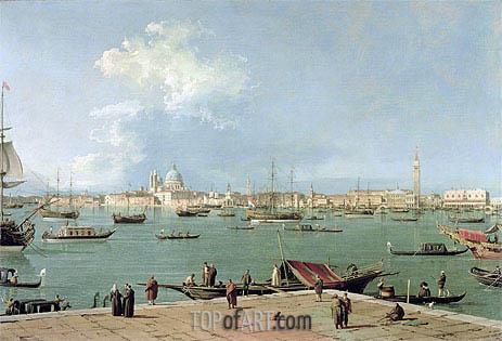 Canaletto | Venice: the Bacino di San Marco from San Giorgio Maggiore, c.1735/44