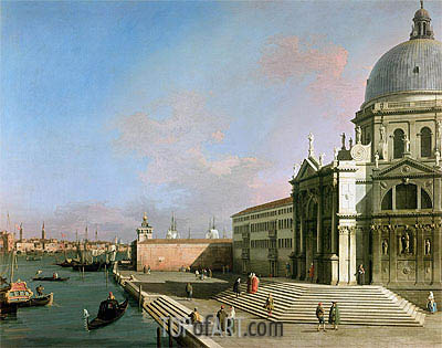 The Grand Canal, undated | Canaletto| Gemälde Reproduktion