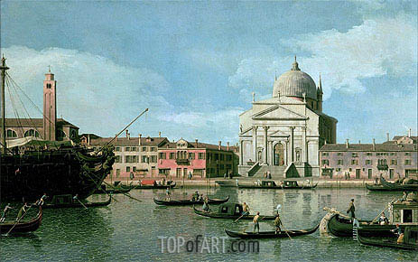 Il Redentore, undated | Canaletto| Painting Reproduction
