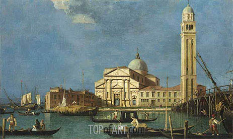 Venice: St. Pietro in Castello, c.1734/42 | Canaletto | Painting Reproduction