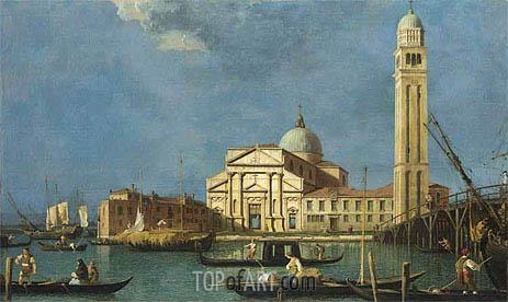 Canaletto | Venice: St. Pietro in Castello, c.1734/42