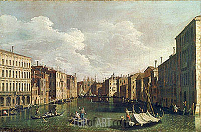 Venice, undated | Canaletto | Painting Reproduction