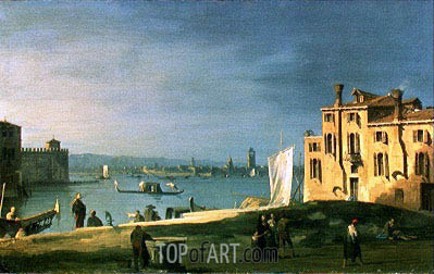 View of Venice, undated | Canaletto | Painting Reproduction