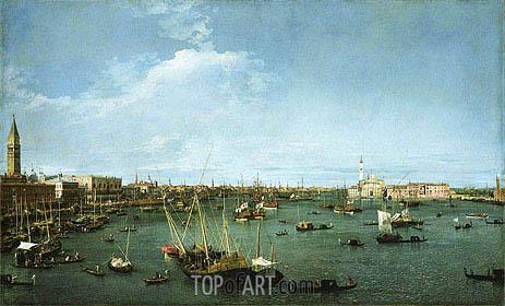 Canaletto | Bacino di San Marco, Venice, c.1738