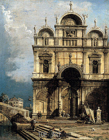 The School of San Marco, c.1765 | Canaletto| Painting Reproduction