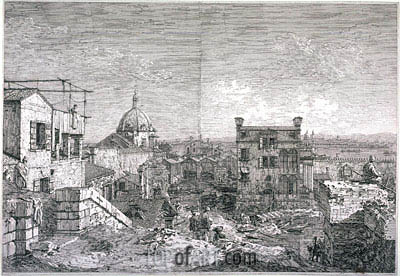 Imaginary View of Venice, 1741 | Canaletto| Painting Reproduction
