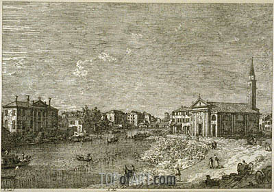 Al Dolo, undated | Canaletto| Painting Reproduction