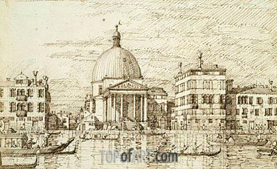 Canaletto | San Simeon Piccolo, c.1735/40