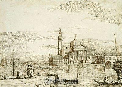 San Giorgio Maggiore, c.1735/40 | Canaletto | Painting Reproduction
