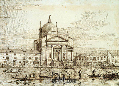 The Redentore, c.1735/40 | Canaletto | Painting Reproduction