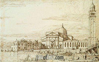 San Pietro di Castello, c.1735/40 | Canaletto | Painting Reproduction