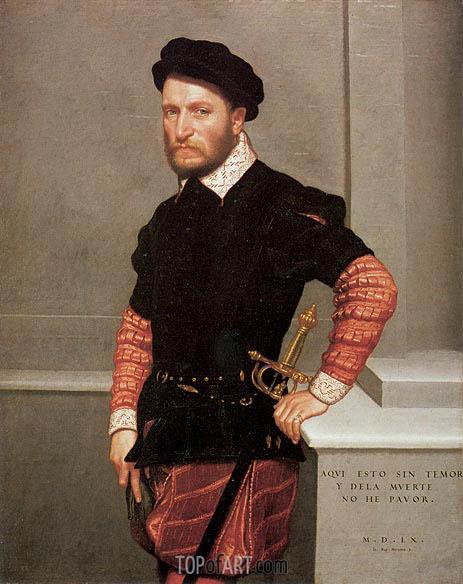 Giovanni Battista Moroni | Don Gabriel de la Cueva, Count of Albuquerque, 1560