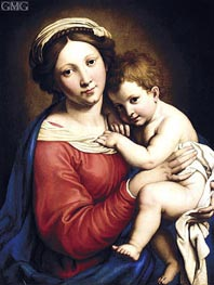 The Madonna and Child | Sassoferrato | Painting Reproduction
