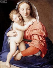 Madonna and Child | Sassoferrato | outdated