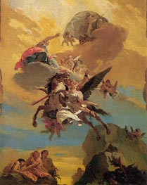Perseus and Andromeda, c.1730 by Tiepolo | Painting Reproduction