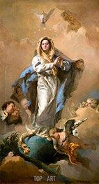 Die Unbefleckte Empfängnis, c.1767/69 von Tiepolo | Gemälde-Reproduktion