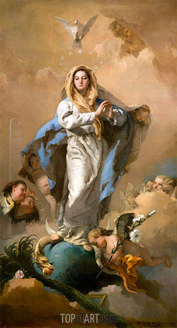 Tiepolo | The Immaculate Conception, c.1767/69