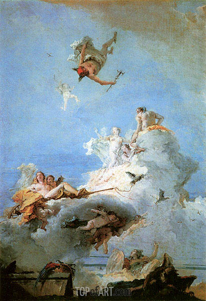 Tiepolo | The Triumph of Venus, c.1726/65