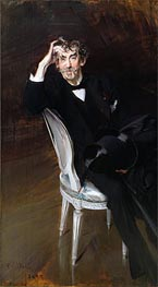 Portrait of James Abbott McNeil Whistler | Giovanni Boldini | outdated