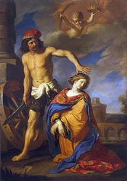 The Martyrdom of St Catherine | Guercino | outdated