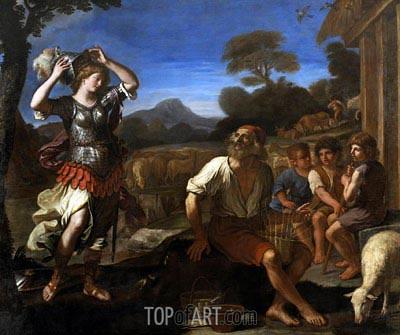 Guercino | Erminia and the Shepherds, 1648