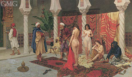 Inspection of the New Arrivals, undated | Giulio Rosati | Painting Reproduction