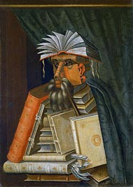 The Librarian, c.1566 von Arcimboldo | Gemälde-Reproduktion
