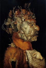 Terra, 1566 by Arcimboldo | Painting Reproduction