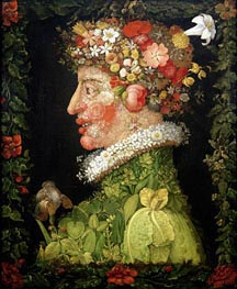 Spring, 1573 by Arcimboldo | Painting Reproduction