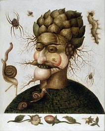 The Allegory of Earth, undated von Arcimboldo | Gemälde-Reproduktion