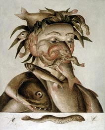 An Allegory of Water, undated by Arcimboldo | Painting Reproduction