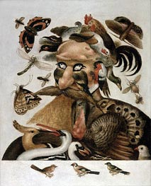 An Allegory of Air, undated by Arcimboldo | Painting Reproduction