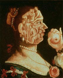 Portrait of Eve, undated by Arcimboldo | Painting Reproduction