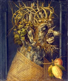 Winter, c.1598 by Arcimboldo | Painting Reproduction