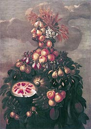 Summer, Undated by Arcimboldo | Painting Reproduction