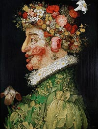 Spring (Allegory of Spring), 1573 by Arcimboldo | Painting Reproduction