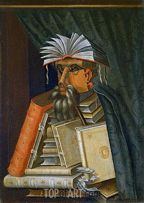 The Librarian, c.1566 | Arcimboldo | Painting Reproduction