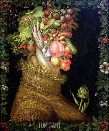 Summer, 1573 | Arcimboldo | Painting Reproduction
