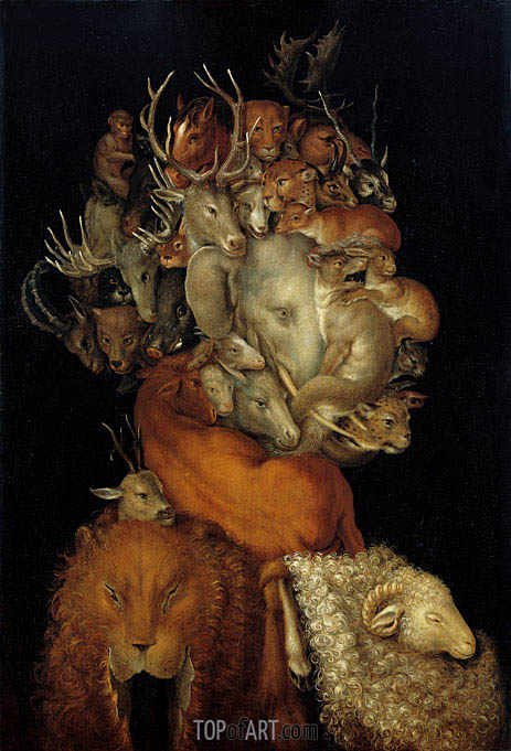 Terra, 1566 | Arcimboldo| Painting Reproduction