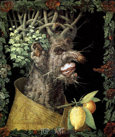 Winter, 1573 | Arcimboldo | Painting Reproduction