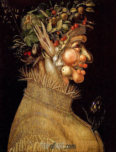 Summer, 1563 | Arcimboldo | Painting Reproduction