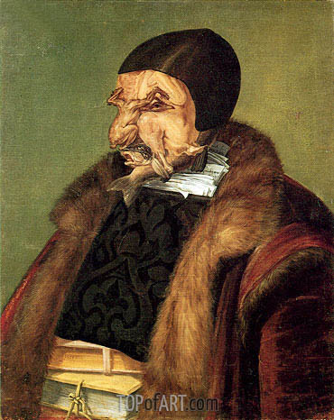 Jurist, 1566 | Arcimboldo | Painting Reproduction