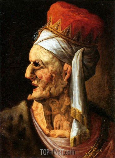 Herod, undated | Arcimboldo | Painting Reproduction