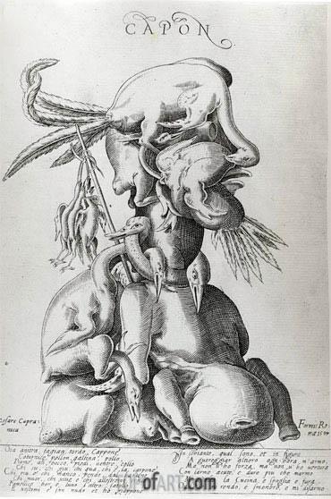 Arcimboldo | Capon, 1597