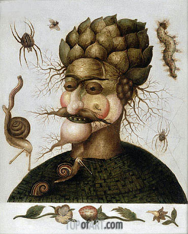 The Allegory of Earth, undated | Arcimboldo| Gemälde Reproduktion