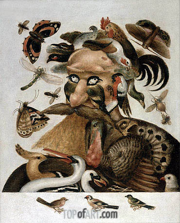 An Allegory of Air, undated | Arcimboldo| Painting Reproduction