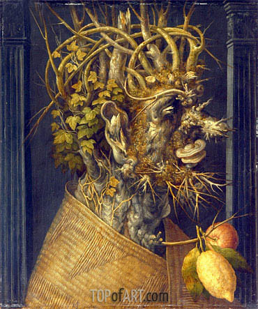 Winter, c.1598 | Arcimboldo | Painting Reproduction